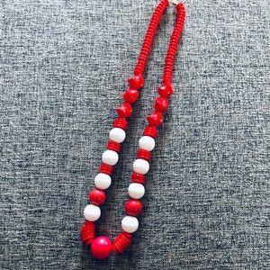 Vintage Colourblock Necklace